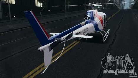 Eurocopter AS350 Ecureuil (Squirrel) Malaysia pour GTA 4 est un droit