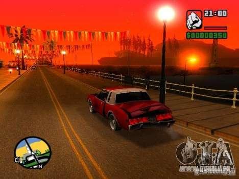 Timecyc BETA 2.0 für GTA San Andreas dritten Screenshot