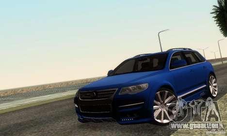 VolksWagen Touareg R50 JE Design Tuning für GTA San Andreas linke Ansicht