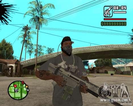 Applications de l'ARC pour GTA San Andreas