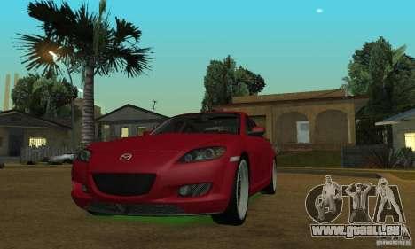 Les néons verts pour GTA San Andreas troisième écran