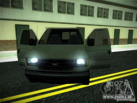 Ford E150 2000 für GTA San Andreas Innenansicht