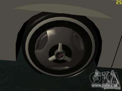 Neoplan Tourliner pour GTA San Andreas vue de côté