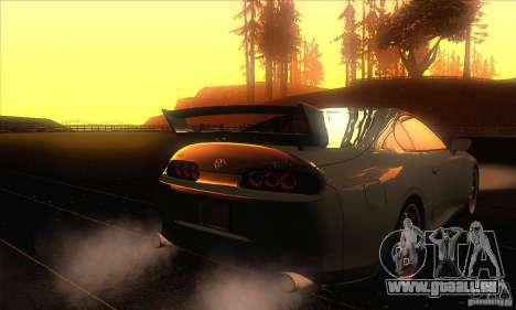 Toyota Supra für GTA San Andreas Seitenansicht
