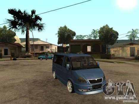 GAZ-2217-Bargusin Zobel für GTA San Andreas rechten Ansicht