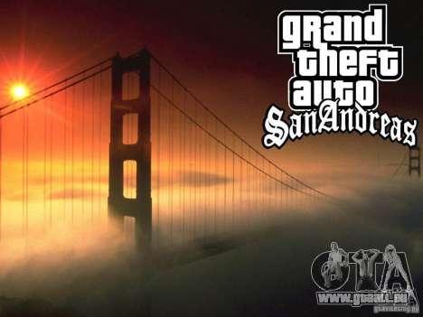 Nouveaux écrans de chargement pour GTA San Andreas