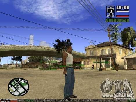 Armes de Pak pour GTA San Andreas sixième écran