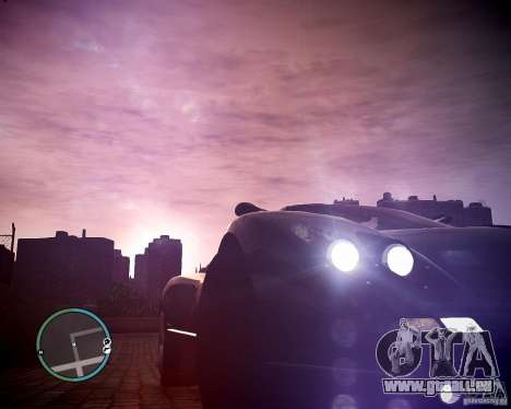 Pagani Zonda C12S Roadster für GTA 4 hinten links Ansicht