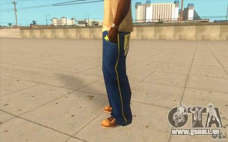 Karl Kan Puzzle Jeans pour GTA San Andreas deuxième écran