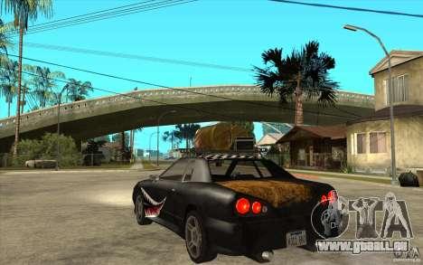 Elegy Rost Style für GTA San Andreas zurück linke Ansicht