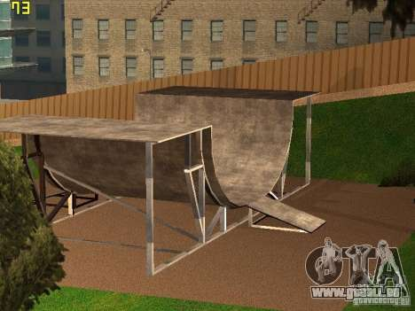 New SkatePark v2 pour GTA San Andreas troisième écran
