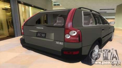 Volvo XC90 pour une vue GTA Vice City de la gauche