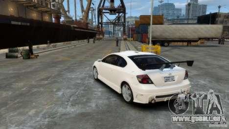 Toyota Scion pour GTA 4 est un droit