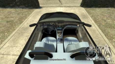 Maserati Spyder Cambiocorsa pour GTA 4 est un droit