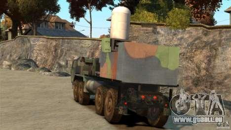 HEMTT Phalanx pour GTA 4 Vue arrière de la gauche