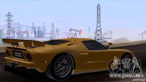 Ford GT Matech GT3 Series für GTA San Andreas