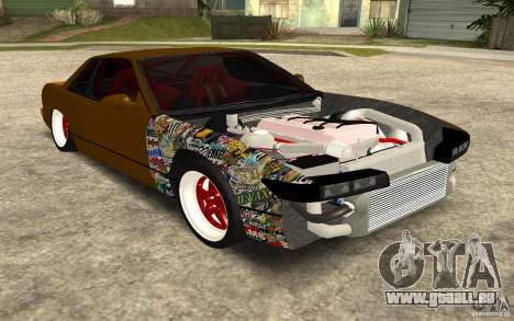 Nissan Silvia S13 Crash Construction pour GTA San Andreas