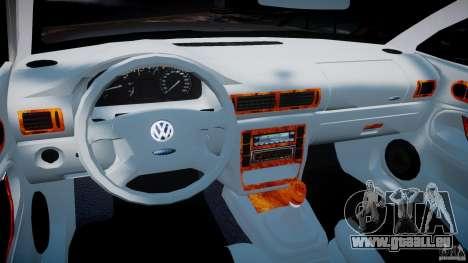 Volkswagen Passat B5 pour GTA 4 Vue arrière
