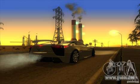 ENB Graphics by KINOman für GTA San Andreas sechsten Screenshot