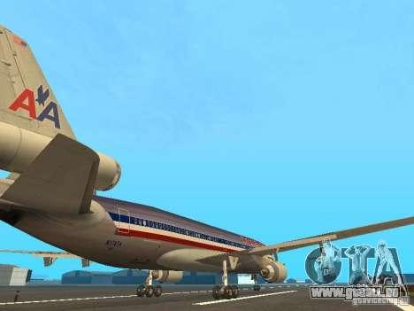 McDonell Douglas MD11 American Airlines pour GTA San Andreas vue de droite