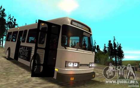 NFS Undercover Bus pour GTA San Andreas vue intérieure