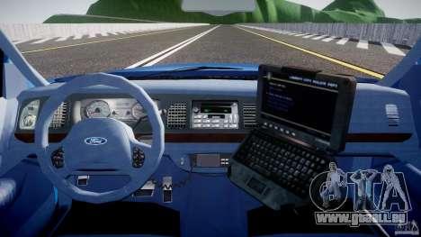 Ford Crown Victoria 2003 Noose v2.1 für GTA 4 obere Ansicht