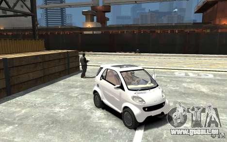 Smart For Two pour GTA 4 Vue arrière