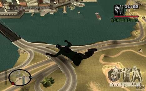 Le nouveau parachute pour GTA San Andreas troisième écran