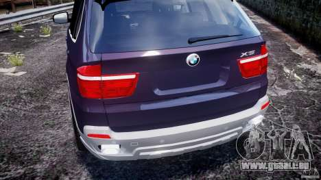 BMW X5 xDrive 4.8i 2009 v1.1 für GTA 4 obere Ansicht
