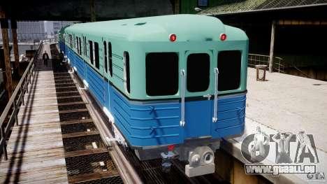 Metro russe pour GTA 4 quatrième écran