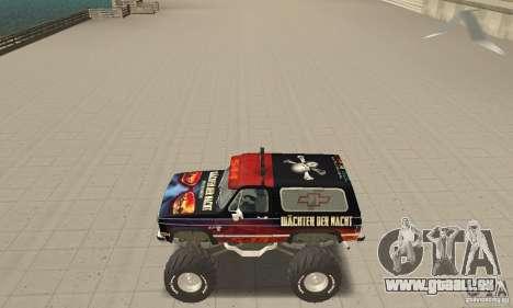 Chevrolet Blazer K5 Monster Skin 5 für GTA San Andreas