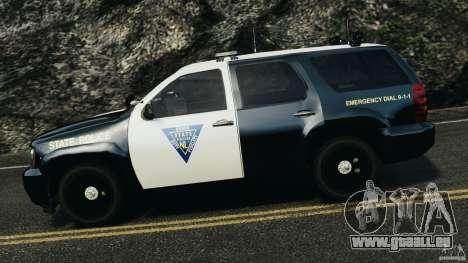 Chevrolet Tahoe Marked Unit [ELS] pour GTA 4 est une gauche