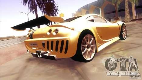 Ascari A10 für GTA San Andreas rechten Ansicht