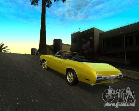 EON Stallion GT-A pour GTA San Andreas vue de droite
