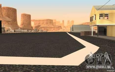 New Verdant Meadows Airstrip pour GTA San Andreas troisième écran