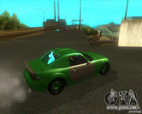 Mazda Miata MX-5 Konguard 2007 pour GTA San Andreas vue de droite
