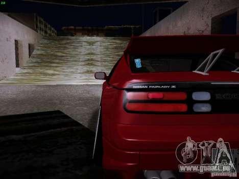 Nissan 300ZX Drift pour GTA San Andreas vue intérieure
