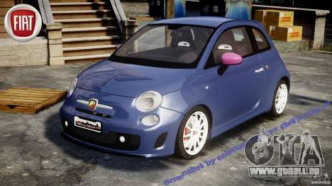 Fiat 500 Abarth SS für GTA 4