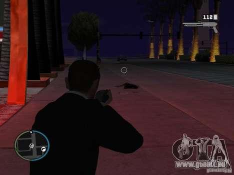 Objectif étroit pour GTA San Andreas troisième écran