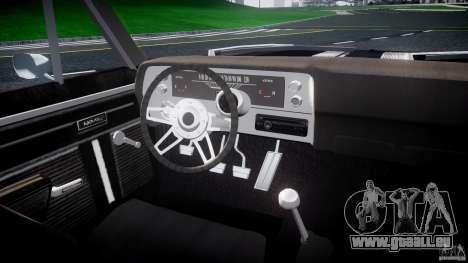 Chevrolet Nova 1969 pour GTA 4 est un droit
