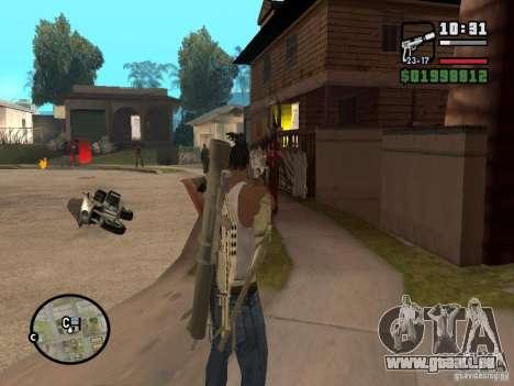 Nouveau spectacle pour GTA San Andreas troisième écran