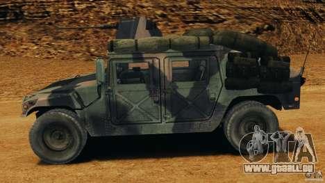 HMMWV M1114 v1.0 pour GTA 4 est une gauche