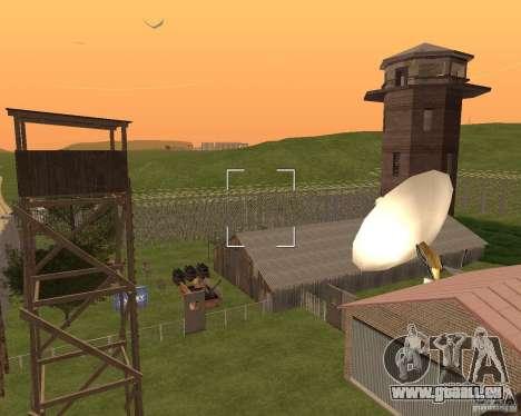 Base Gareli für GTA San Andreas sechsten Screenshot