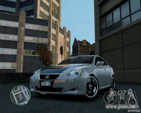 Lexus IS350 2006 v.1.0 für GTA 4