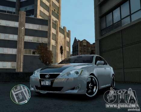 Lexus IS350 2006 v.1.0 pour GTA 4