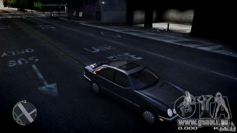 Mercedes w210 1998 (E280) für GTA 4 linke Ansicht