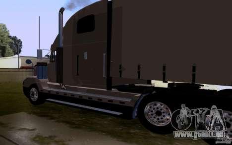 Freightliner SD 120 pour GTA San Andreas sur la vue arrière gauche