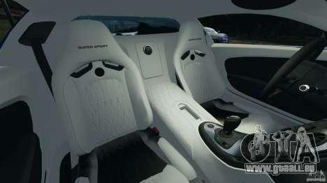 Bugatti Veyron 16.4 Super Sport 2011 v1.0 [EPM] pour GTA 4 est une vue de l'intérieur