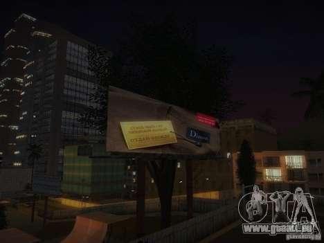 Nouvelles affiches autour de l'État pour GTA San Andreas septième écran