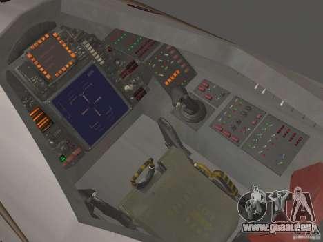 Module de FARSCAPE pour GTA San Andreas sur la vue arrière gauche